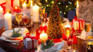 Weihnachtsbuffet - 1. Zeit